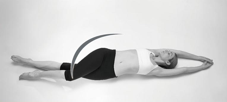 腰ひねり運動
