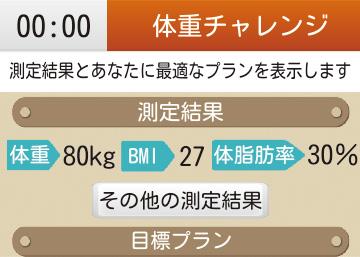 体重チャレンジコース